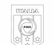 Coloring pages Italy Football