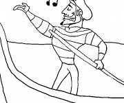 Coloring pages Italy Navie Venice