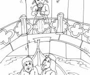 Coloring pages Italy Venice