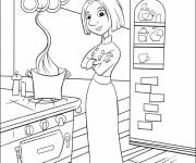 Coloring pages Chef Cartoon