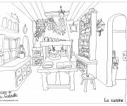 Coloring pages Cooking for adults