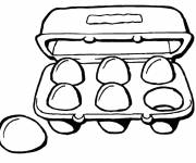 Coloring pages Kitchen food