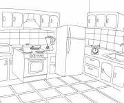 Coloring pages Online Cooking