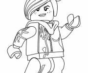 Coloring pages Lego Lucy