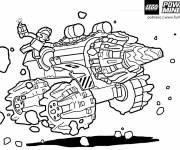 Coloring pages Lego Machine