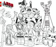 Coloring pages Lego Movie