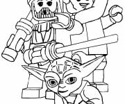 Coloring pages Lego Nexo Knights to cut out
