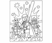 Coloring pages Lego  Star Wars
