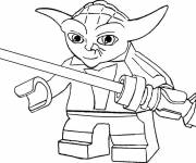 Coloring pages Lego Star Wars Character