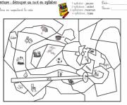 Coloring pages Magic cp 28