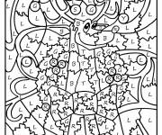 Coloring pages Magic cp Letters and Animals