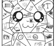 Coloring pages Magic cp Pikachu