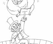 Coloring pages Circus Magician to color
