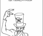 Coloring pages Disney Magician Circus