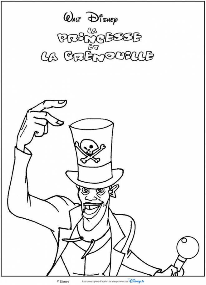 Free coloring and drawings Disney Magician Circus Coloring page