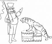 Coloring pages Maternal circus
