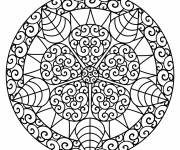Coloring pages online mandala challenge