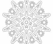 Coloring pages Online Mandala for the Big Ones