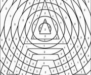 Coloring pages Adult math