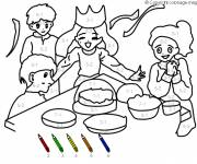 Coloring pages Mathematics and Family