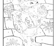 Coloring pages Mathematics and Numbers