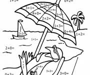 Coloring pages Mathematics for children