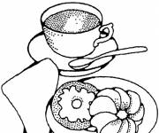 Coloring pages Breakfast