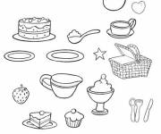 Coloring pages Coloring meal