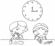 Coloring pages Meal time