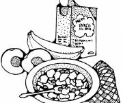 Coloring pages Meals and Nutrition