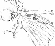 Coloring pages Extraterrestrial Megamind