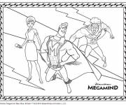 Coloring pages Megamind cartoon