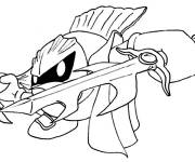 Coloring pages Nintendo Character