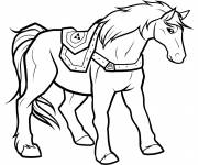 Coloring pages Nintendo Horse