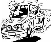 Coloring pages Humorous rally