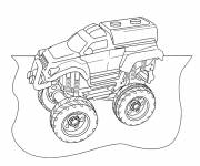 Free coloring and drawings rally truck Coloring page