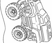 Coloring pages Toy Rally Car