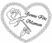 Coloring pages Best Wishes for Mom