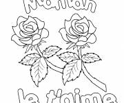 Coloring pages Color Mothers Day