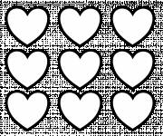 Coloring pages Heart online