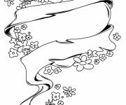 Coloring pages Rose and Heart to decorate