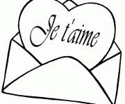 Coloring pages Word of Love