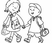Free coloring and drawings Back to school Coloring page