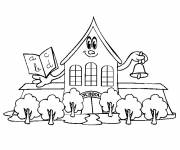 Free coloring and drawings Nursery primary school Coloring page