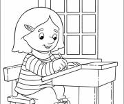 Coloring pages School Classes