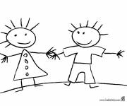 Free coloring and drawings Simple school Coloring page