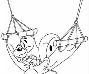 Coloring pages Anti-Stress Animals for children