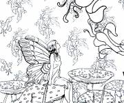 Coloring pages Relaxation for Girl