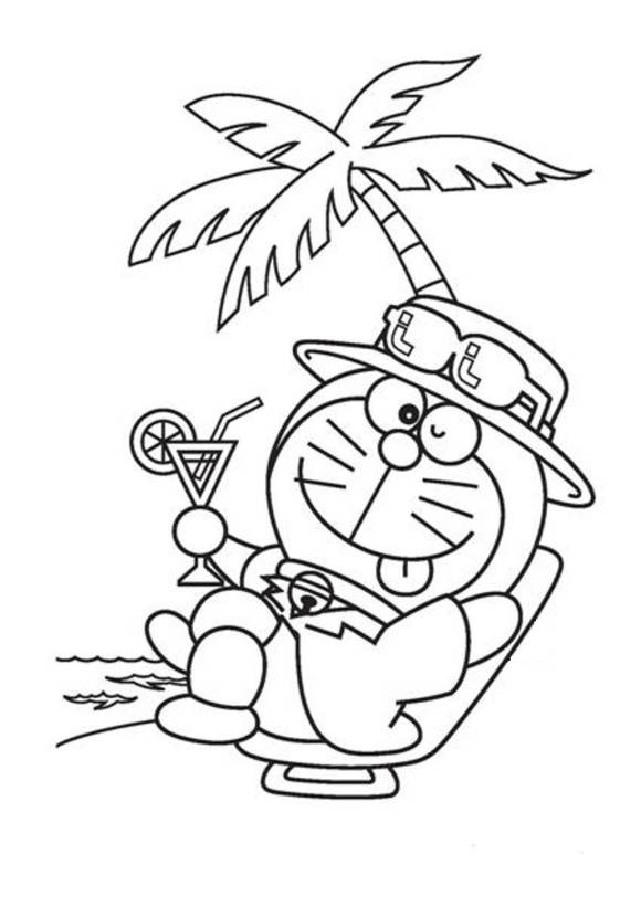 Free coloring and drawings Relaxation for the Little Ones Coloring page