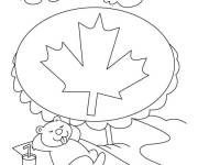 Coloring pages Relaxation in Canada